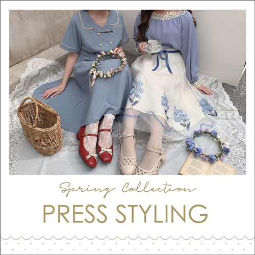 Spring Collection PRESS STYLING